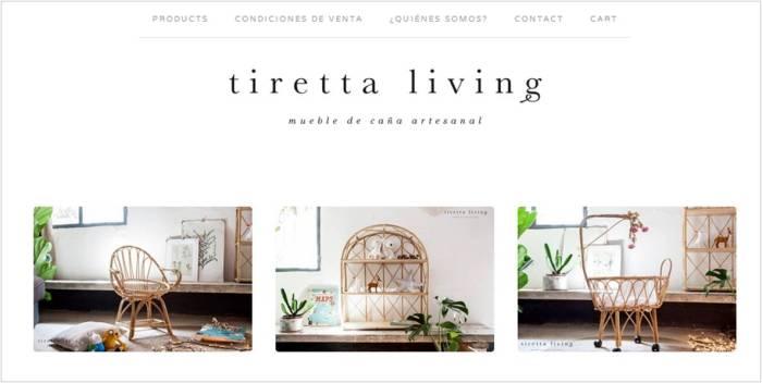 tienda online tiretta living mueble de caña artesanal mimbre